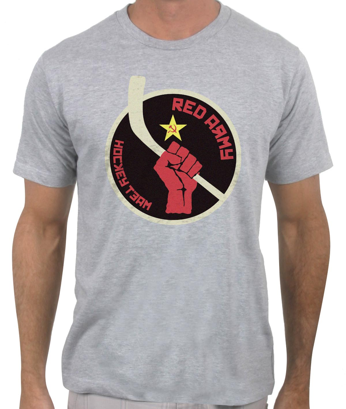 soviet red army hockey team t shirt