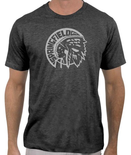 Springfield-Indians-hockey-1946-1951-charcoal-grey-tshirt