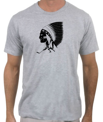 Springfield-indians-hockey-1954-1957-heather-grey-tshirt