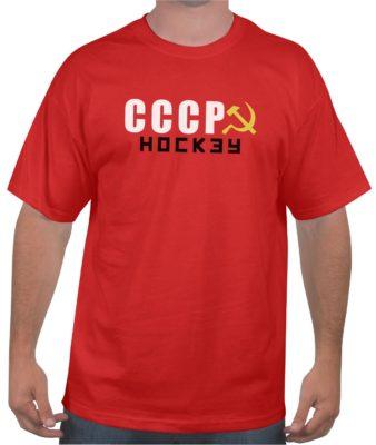 cccp-hockey-red-tshirt