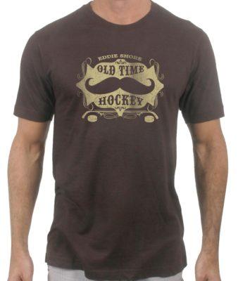 eddie-shore-old-time-hockey-brown-tshirt