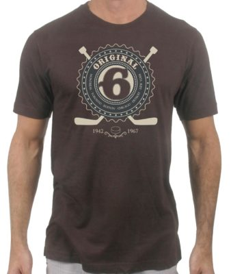 original-6-hockey-teams-brown-tshirt