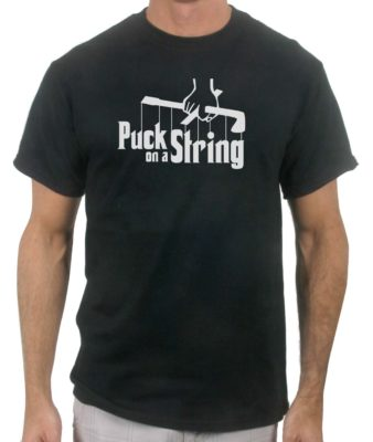puck-on-a-string-hockey-black-tshirt