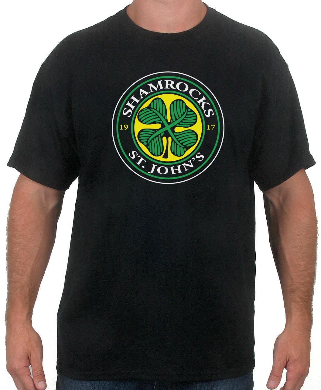 St. John's Shamrocks Hockey T-Shirt : Goon Movie