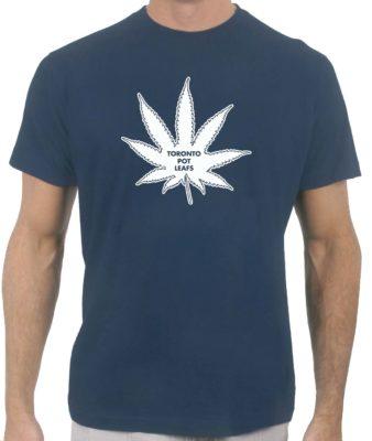 toronto-pot-leafs-navy-tshirt